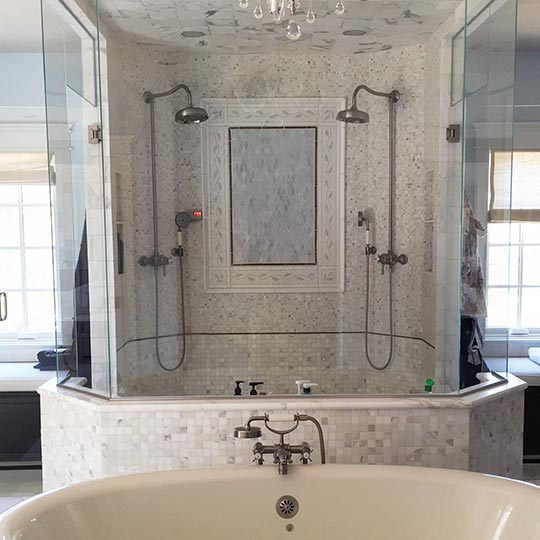 Bathroom Tile Contractor: We Install Ceramic Flooring, Harwood Flooring, Carpeting